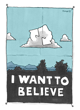 Things - Cloud Sync - I Want to Believe