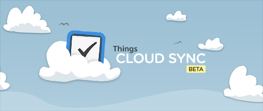 Things Cloud Sync Beta