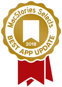 MacStories Best App Update of 2018